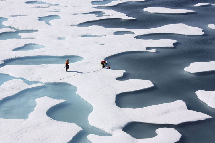 The Arctic has bigger problems than bitcoin. Picture: REUTERS
