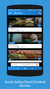 South Indian Hindi Dubbed Movies App Download For Android 4