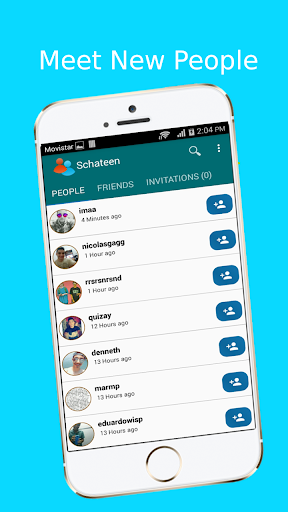 Schateen - Chat to meet new people 6.6.7 screenshots 1