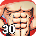 Abs Workout - Six Pack in 30 Days, Ab Exercises icon