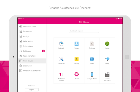 MagentaSERVICE – Miniaturansicht des Screenshots