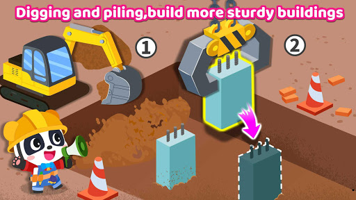 Baby Panda's Earthquake-resistant Building apktram screenshots 12
