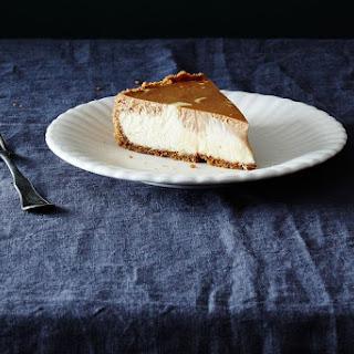 Mocha Marble Cheesecake