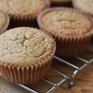Lemon Poppyseed Muffins (gluten-free, dairy-free).