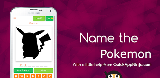 Name The Pokemon game (apk) free download for Android/PC/Windows screenshot