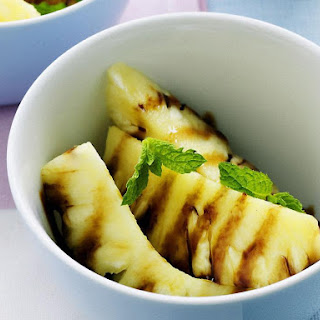 Pineapple Wedges with Palm Sugar Syrup