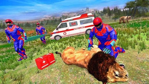 Light Superhero Speed Hero Robot Rescue Mission apkdebit screenshots 2