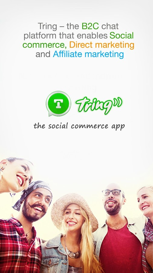 Tring - Social Commerce App- screenshot