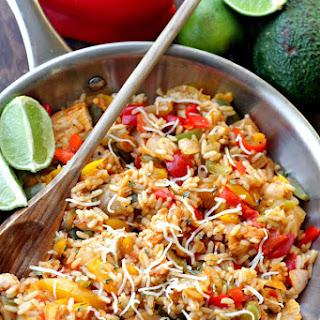 Ranch-Chicken Fajita Bowls Recipe