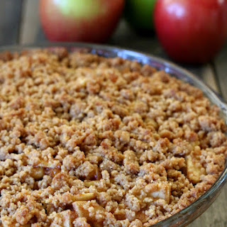 Gluten-free Snickerdoodle Streusel Apple Pie