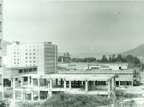 Photo: Pohľad na rozostavané budovy sídliska.