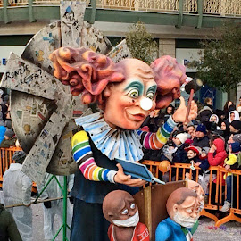 Putinagno Carnival, Easter Tradition, Italy  by Ginny Serio - Public Holidays Easter