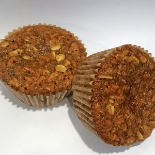 Carrot Cake and Oat Muffins