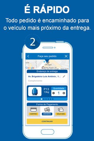 Ultragaz – Delivery de gás- screenshot