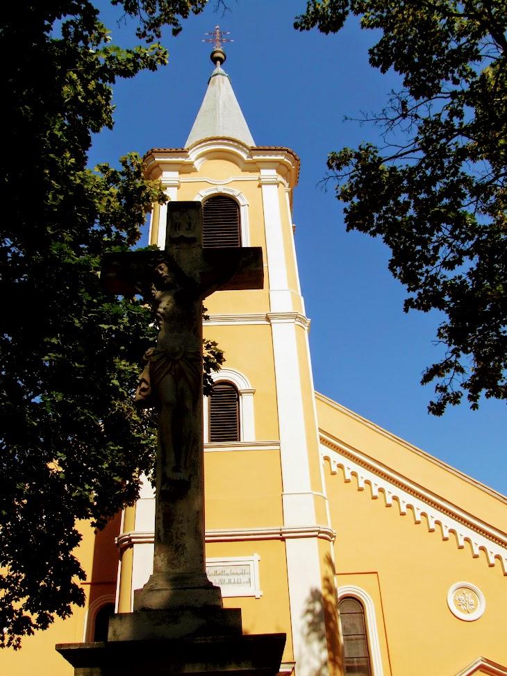 Gencsapáti - Gencsi falurész Szent Jakab rk. plébániatemplom