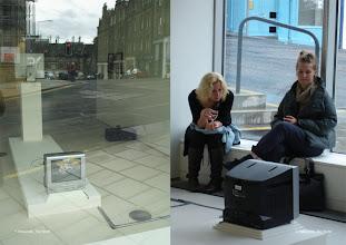 Photo: Tent Gallery, Edinburgh, UK, 2009