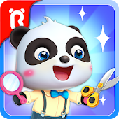 Baby Panda's Hair Salon Icon
