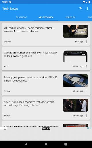 Tech News 1.9.1 Screenshots 18