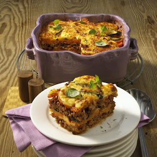 Zucchini and Sweet Potato Moussaka