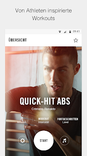 Nike Training Club – Workouts und Fitnesspläne Screenshot