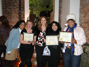 Photo: Graduate candidates celebrate the end of the Fall 2010 semester and the beginning of the holidays!