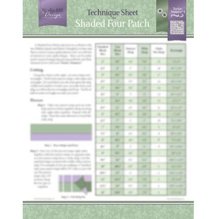 Technique Sheet for Shaded Four Patch