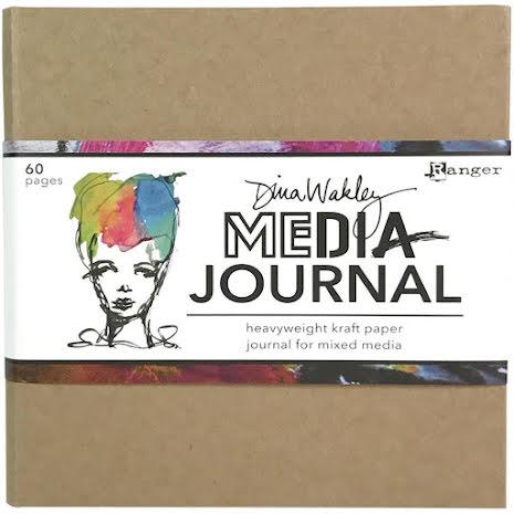 Dina Wakley Media Kraft Journal 6X6