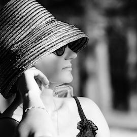 by Kristina Nutautiene - Black & White Portraits & People
