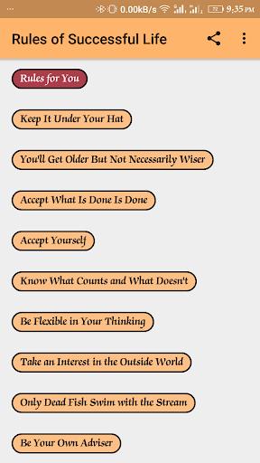 Rules of Success 1.0.3 screenshots 1
