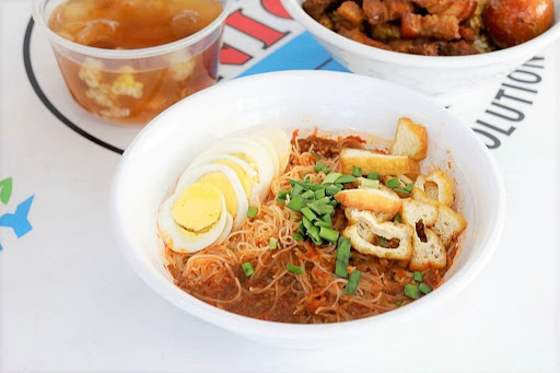 Ya Ma 亞嬷 – Homely Mee Siam And Hokkien-Style Braised Pork Rice, Hidden Within Redhill Industrial Canteen