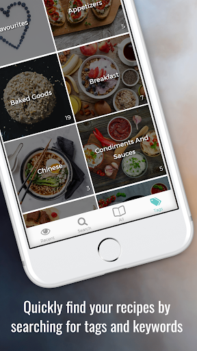Screenshot for CookBook - The Recipe Manager in United States Play Store