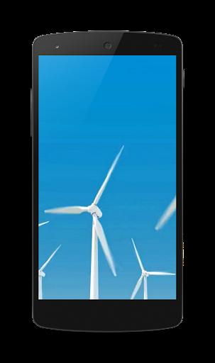 Windmills Video Wallpaper