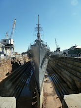 Photo: I bet most of you have never seen a naval destroyer like that!