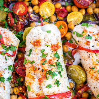 One-Pan Cod with Chorizo and Chickpeas Recipe