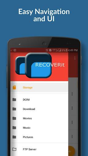 Recoverit - best file explorer 8.0 screenshots 2