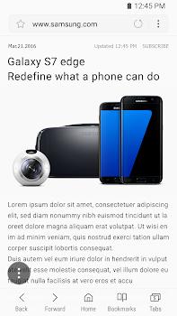 Samsung Internet Browser Beta