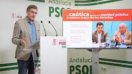 José Luis Sánchez Teruel, en la rueda de prensa.