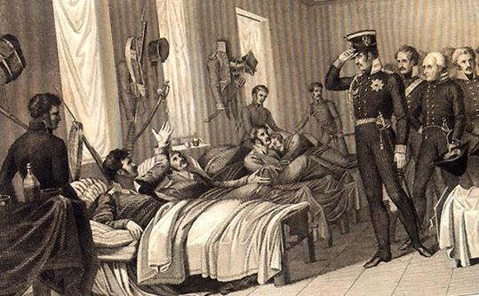 Военная медицина в 1812 году