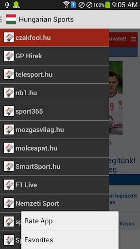 Hungarian Sports News
