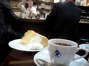 Photo: 老舗の喫茶店は好きなんだけど、喫煙率が高いのが難点!