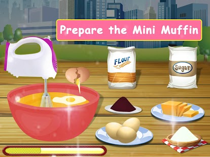 Download free Lunchbox maker : Muffin cooking and baking game for PC on Windows and Mac apk screenshot 8