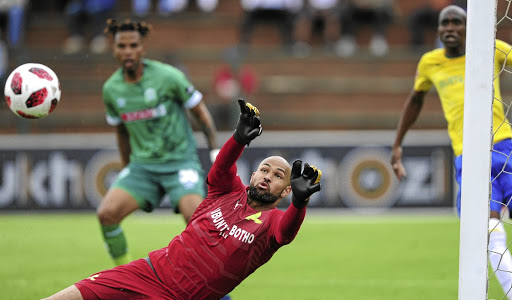 Mamelodi Sundowns goalkeeper Reyaad Pieterse is on a mission to be Bafana's number one.