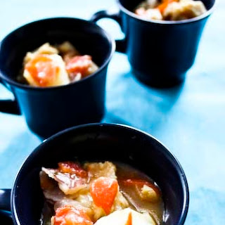 Potato and Bacalao Bouillabaisse