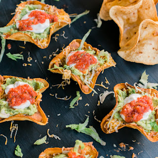 7 Layer Bean Dip Tostada Bowl