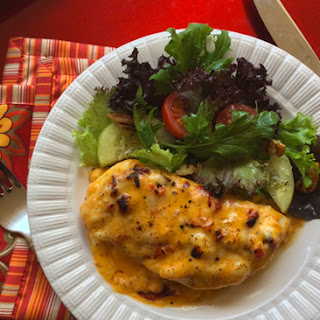 Pimento Cheese Roasted Chicken... whoa!