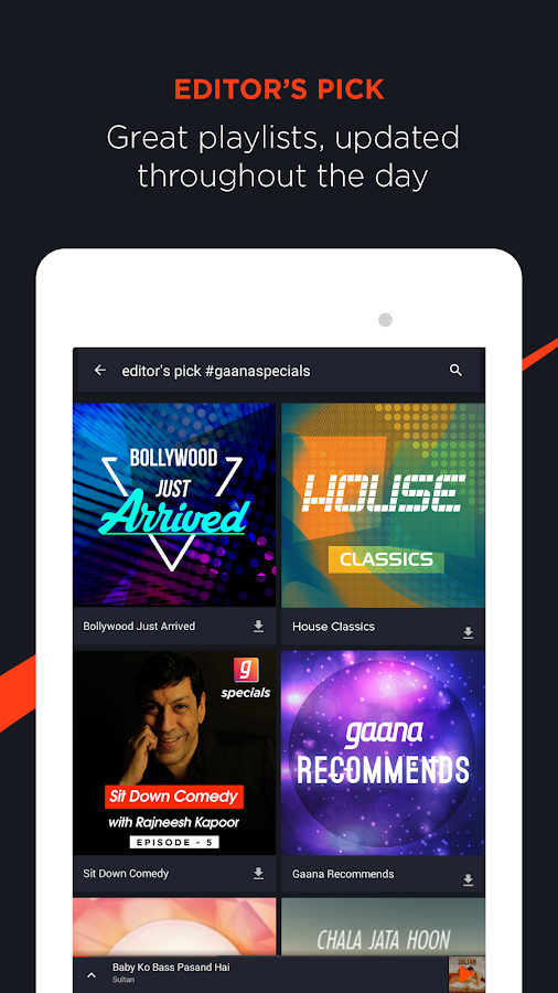 Gaana Music: Bollywood Songs & Radio- screenshot