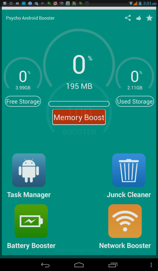 Super Cleaner lite Booster- screenshot