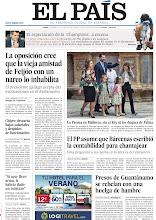 Photo: La oposición cree que la vieja amistad de Feijóo con un narco lo inhabilita, presos de Guantánamo se rebelan con una huelga de hambre y el Rey y los duques de Palma no asisten a la Pascua en Mallorca, en nuestra portada del lunes 1 de abril http://srv00.epimg.net/pdf/elpais/1aPagina/2013/04/ep-20130401.pdf