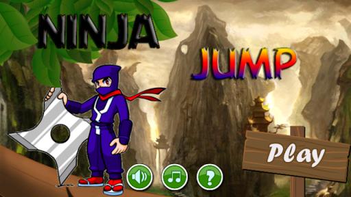 shanghai ninja jump platformer