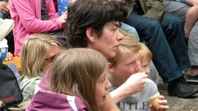 Photo: Large and small children were fascinated
